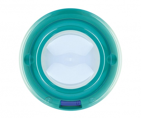Ψηφιακή ζυγαριά κουζίνας Bubble Turquoise