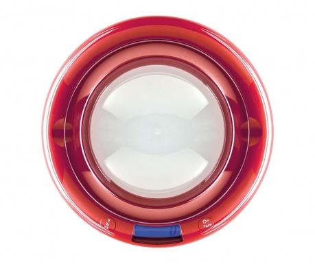 Ψηφιακή ζυγαριά κουζίνας Bubble Red