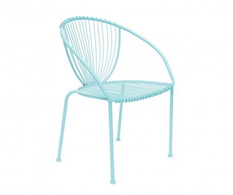 Stolička do exteriéru Solada Light Blue