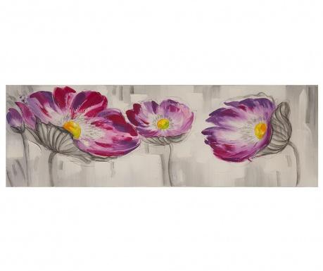 Obraz Flowers Colored 50x150 cm