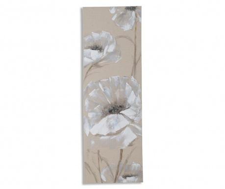 Soft Flowers Festmény 40x120 cm