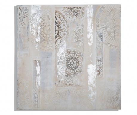 Henne Circle Festmény 90x90 cm