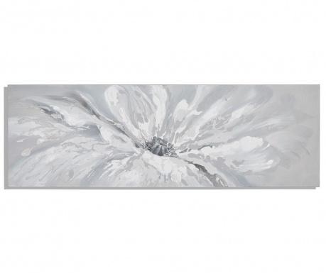 White drops Festmény 50x150 cm