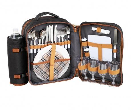 Σακίδιο εξοπλισμένο για picnic 4 άτομα Front