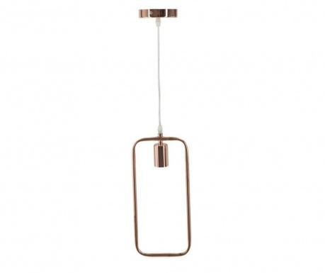 Závesná lampa Angled Copper