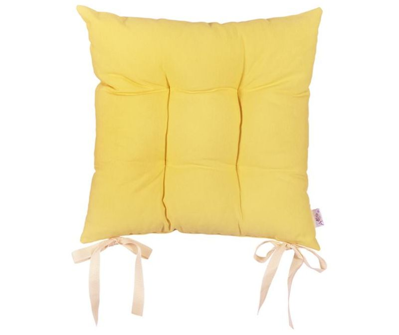 Pure Yellow Ülőpárna 37x37 cm