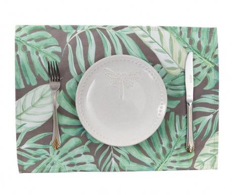 Set 2 individualuri Grey Tropical 33x45 cm