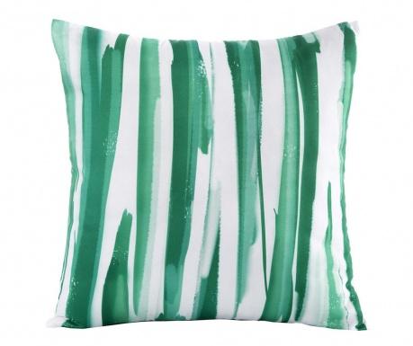 Strips Green White Párnahuzat 45x45 cm