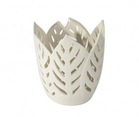 Leto Leaf Cream Váza