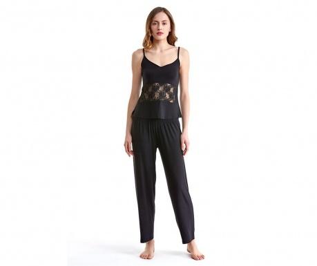 Ženska pižama Lineea Black