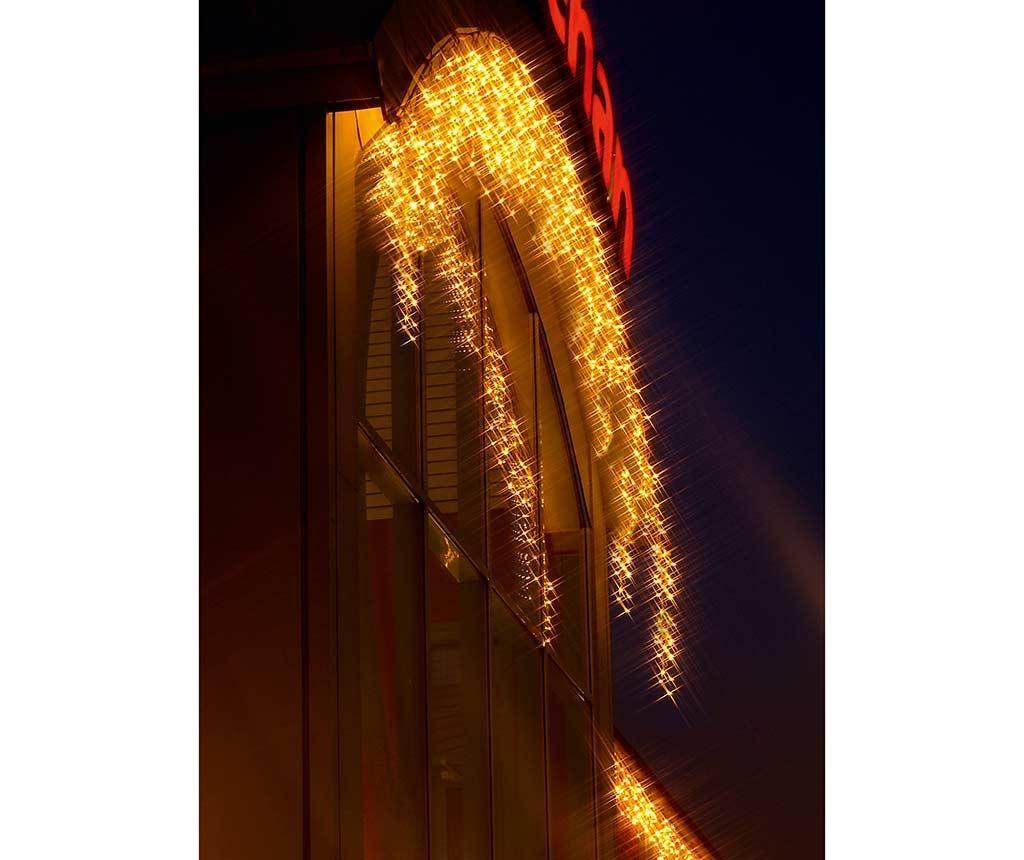 Zunanja svetlobna mreža Icicle White