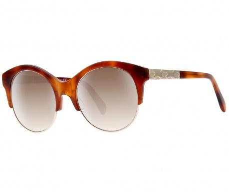 Dámské sluneční brýle Emilio Pucci Gradient Round Brown