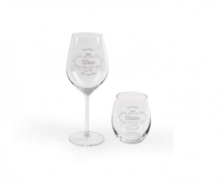 Sada 12 pohárov Vino