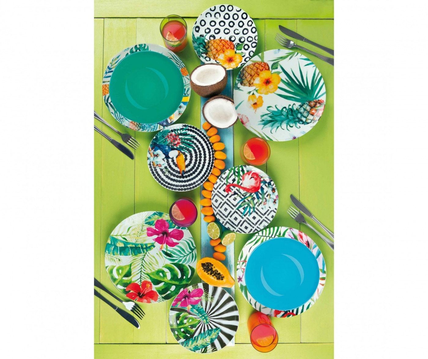 18-dijelni servis za jelo Tropical Dreams