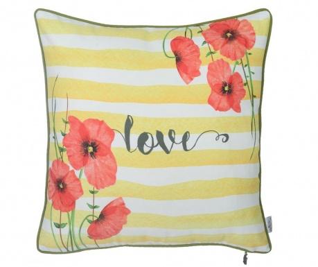 Obliečka na vankúš Poppies & Love 43x43 cm