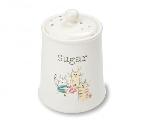 Top Cats Tároló fedővel  cukornak