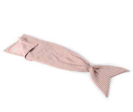 Mermaid Pink Pléd 33x105 cm