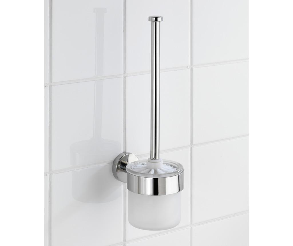 Поставка с четка за тоалетна чиния Bosio Shine