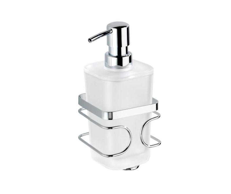 Диспенсър за течен сапун и поставка Premium 355 мл