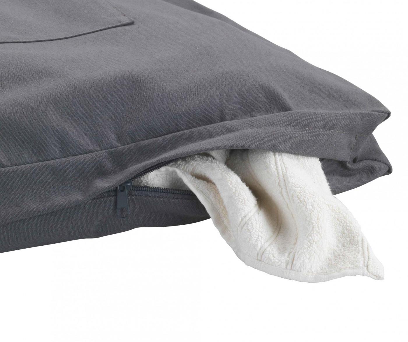 Set 2 kukice za vješanje i torba za rublje Canguro Grey 65 L