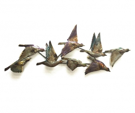 Стенна декорация Beaux Arts Birds Reflects