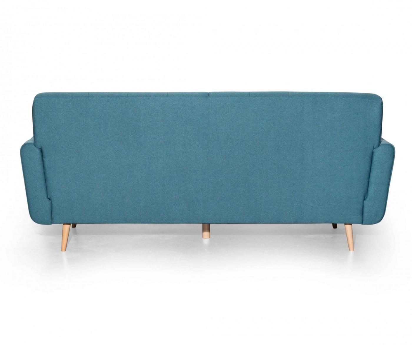 Canapea 3 locuri Retro Zander Light Blue