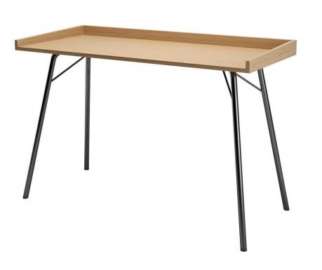 Písací stôl Rayburn Oak and Black