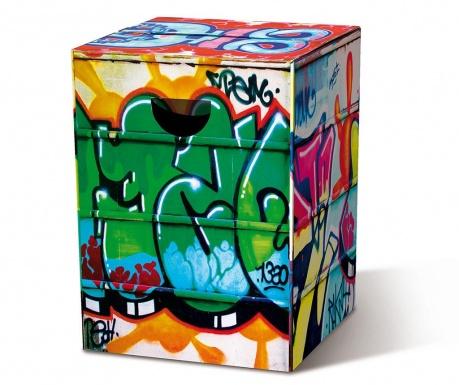 Graffiti Összecsukható zsámoly
