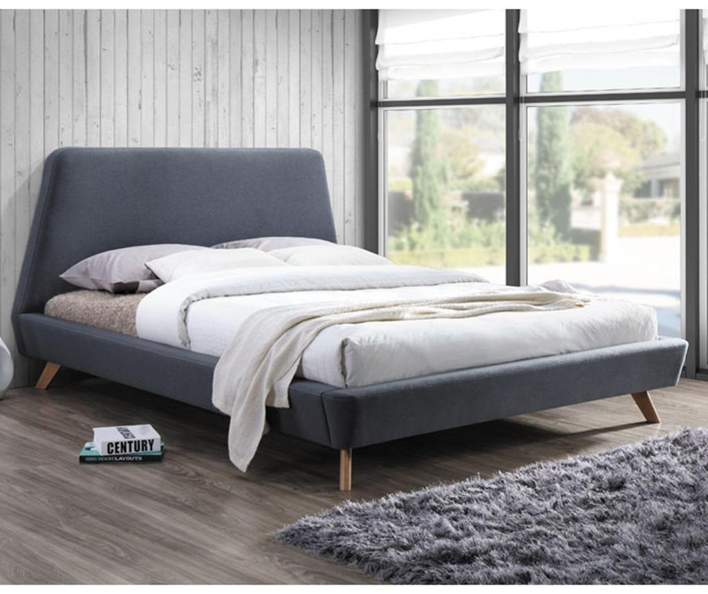 Postel Hera Grey 160x200 cm
