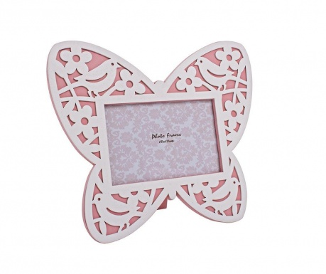 Rámik na fotografiu Butterfly Pink