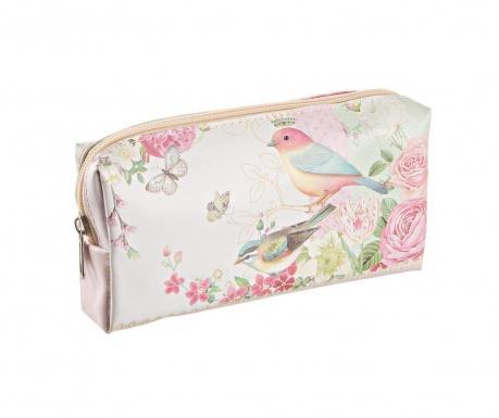 Necesér Romantic Bird and Roses