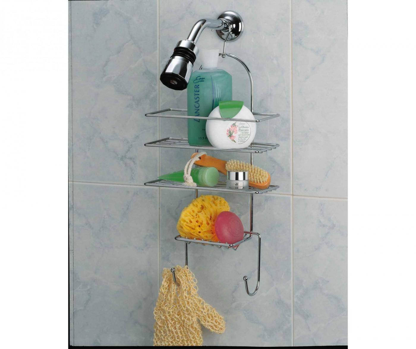 Držač za kupaonski pribor Lars
