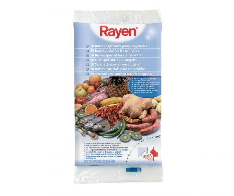 Set 50 vrećica za zamrzavanje Food Bliss 30x45 cm