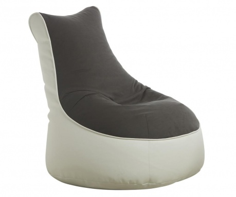 Пуф Comfort Genua Grey White