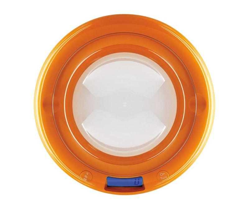 Cantar digital de bucatarie Bubble Orange