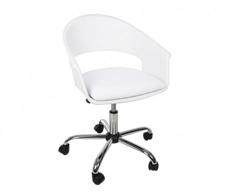 Kancelárska stolička Wells White