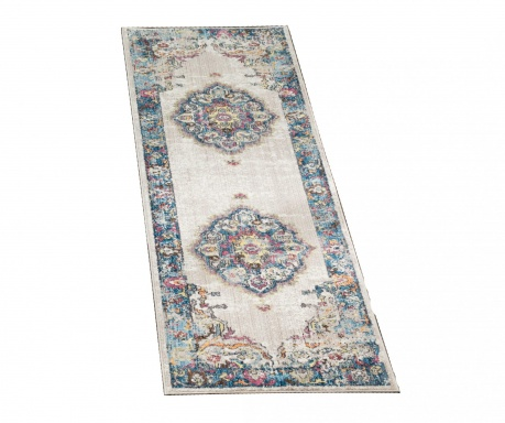 Tepih Aimee Light Grey and Blue 62x240 cm