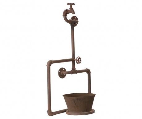 Nástěnný držák na květináč Pipe Loft