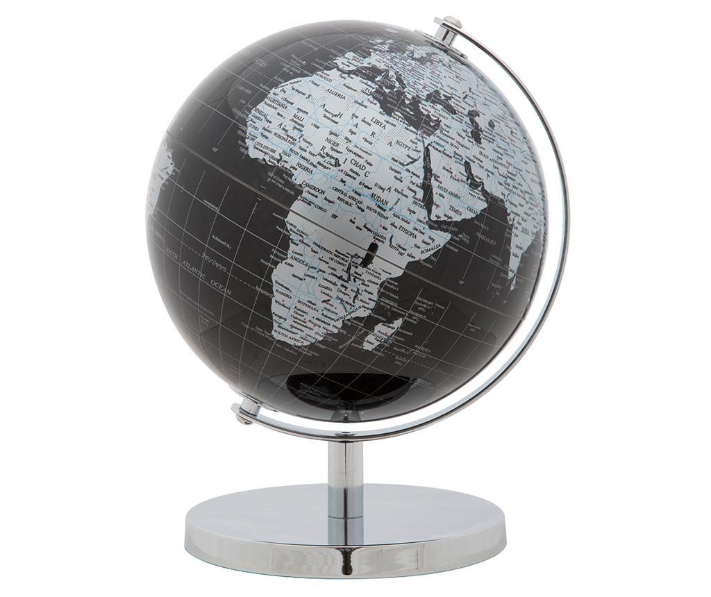 Decoratiune Globe Black Silver