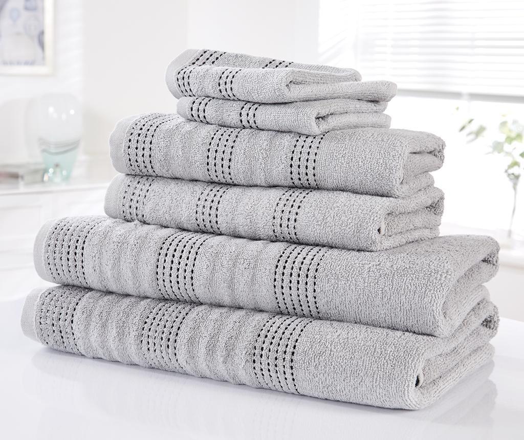 Set 6 kopalniških brisač Spa Silver