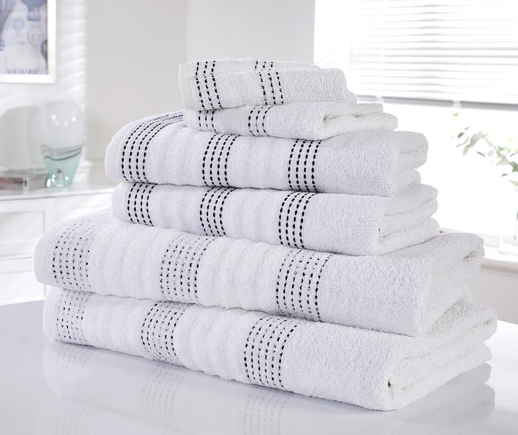 Set 6 kopalniških brisač Spa White