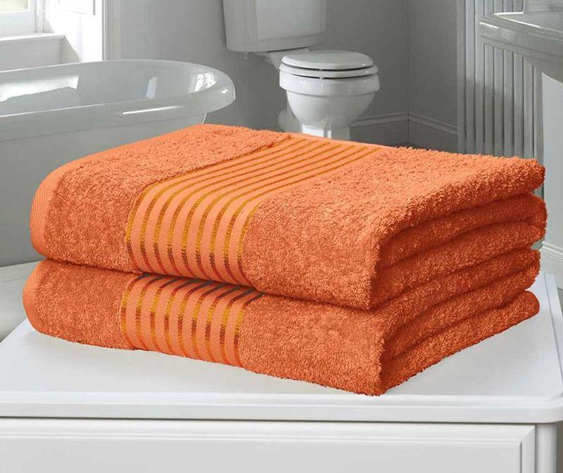Sada 2 ručníků Windsor Orange 90x140 cm