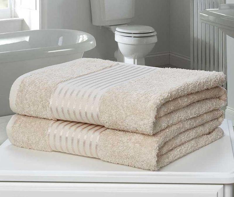 Set 2 kupaonska ručnika Windsor Biscuit 90x140 cm