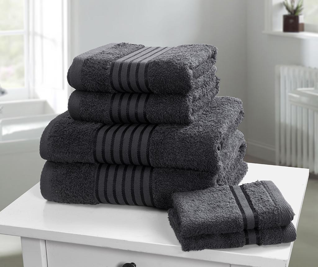 Set 6 kopalniških brisač Windsor Grey