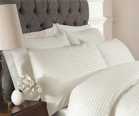 Sada 2 obliečky na vankúše Brighton Hill Premium Cream 50x75 cm