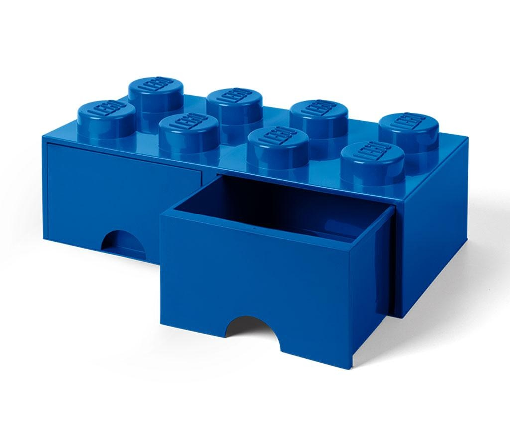 Kutija za pohranu Lego Square Duo Blue