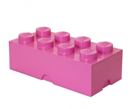 Кутия с капак Lego Rectangular Extra Bright Purple