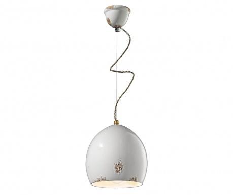 Závesná lampa Painted White