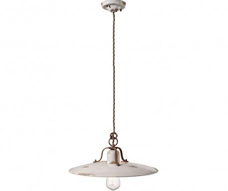 Závesná lampa Grunge White