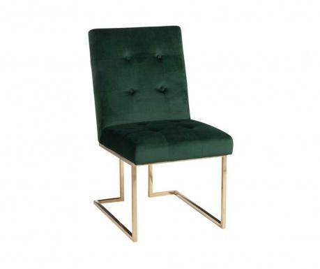 Stolička Velvety Dark Green